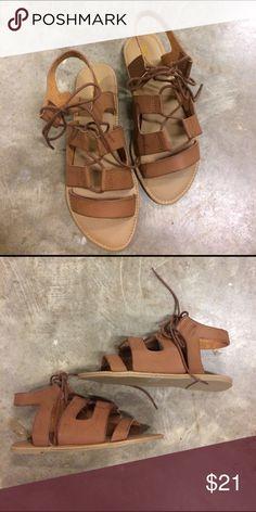 Gladiator Sandal Short brown gladiator sandal by Mia. MIA Shoes Sandals