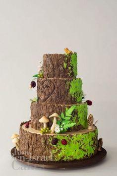 A beautiful Ron Ben Israel wedding cake