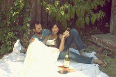 Happy Anniversary: Tess & Jason - The Bride's Cafe. LOVE these photos!
