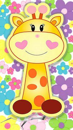 Baby Wallpaper, Cute Disney Wallpaper, Wallpaper Backgrounds, Felt Crafts, Diy And Crafts, Animal Bag, Applique Quilts, Creative, Art For Kids