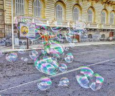 Soap bubbles 🤗 Soap Bubbles, Fair Grounds, Travel, Instagram, Viajes, Destinations, Traveling, Trips