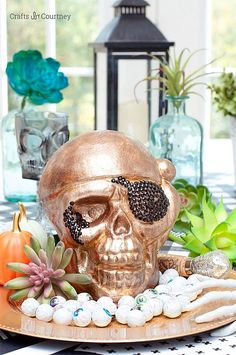 Halloween Inspired Serving Tray   Crafts by Courtney