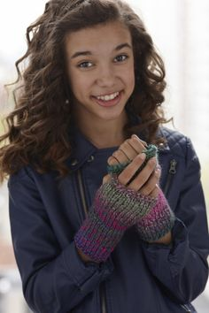 These fingerless gloves are perfect for keeping your hands warm while using your smartphone or device!