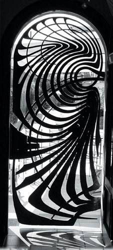 Gate by Claudio Botero, preciosa puerta de entrada fabricación en hierro