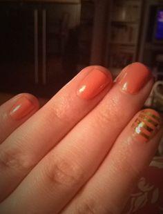 Sunday afternoon nail art
