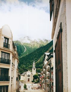 My favorite place in the WORLD!! Cant wait to go back one day | Chamonix's Église St-Michel, Mont Blanc, Conde Nast