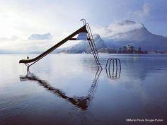 Talloires - Lac d'Annecy : quand le lac prend de la hauteur !
