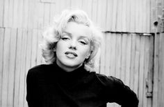 """Marilyn Monroe photographed by Albert Einstein, 1953. """