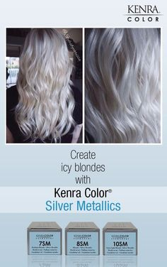 Hair Color Trends 2018 – Highlights Work by Carissa Harper. She used Kenra Color Lightener with Then SV Rapid Toner with and finished with Discovred by : Brooke Travis White Ombre Hair, Ombre Hair Color, White Hair Toner, Hair Colour, Kenra Color, Icy Blonde, Guy Tang Blonde, Platinum Blonde, Blonde Highlights