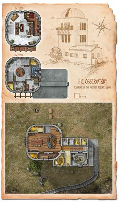 Set at odd angles, this tavern is a mash-up of rebuilt walls and original foundations. Due to shifting terrain, the Crooked House is always being repaired and adapted to fit it's surroundings. Many...