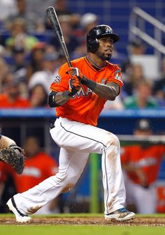 Jose Reyes of the Miami Marlins. Hahahaha, that was a short romance. I wonder if they salsa dance in Toronto? Jose Reyes, Marlins Baseball, Miami Marlins, Salsa Dancing, Washington Nationals, National League, Philadelphia Phillies, New York Mets