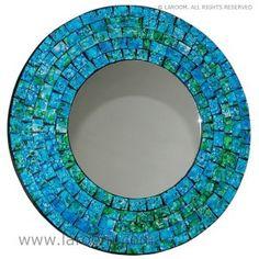 espejo-redondo-mosaico-verde-turquesa                                                                                                                                                      Más