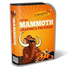 MAMMOTH graphics package We Love 2 Promote http://welove2promote.com/product/mammoth-graphics-package/    #earnfromhome
