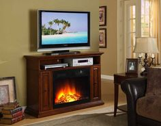 Fireplace: Marvelous Marana Fireplace Tv Console from Perfect Fireplace TV Console