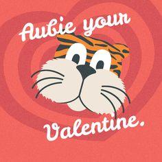 Aubie your Valentine. #AuburnValentines