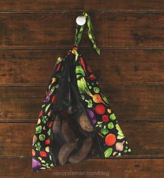 Sew food storage bags Nancy Zieman
