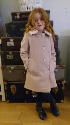 Dusty pink coat