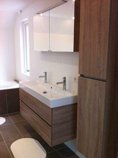 Thebalux ceramic line in bardoline eiken badkamer meubel van 120cm breed. By Ennovy badkamers