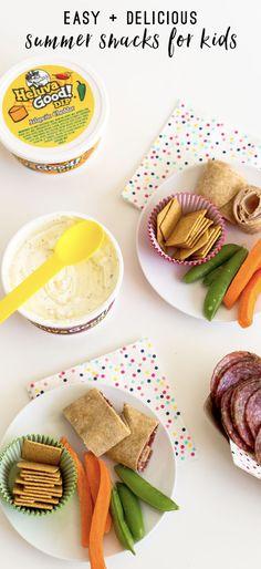 Summer snack plates