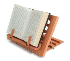 Wooden Reading Rest Adjustable Book Holder Display Stand Wood Cook Kitchen Music in Home, Furniture & DIY, Cookware, Dining & Bar, Food & Kitchen Storage | eBay