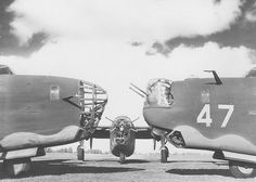 Three different B-24 noses, 1943 | Flickr The nose on the left shows the design when Willow Run started operations. The center nose has added machine guns. The nose on the right was redesigned by Ford to include a power turret above the bombardier's enclosure. Ford Motor Co. Willow Run Bomber Plant.