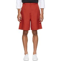 Acne Studios - Red Port Shorts