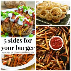5 sides for your burger
