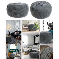 Tmavo sivá nafukovacia taburetka do izby Google Home, Ale, Ottoman, Chair, Furniture, Home Decor, Room Ideas, Decoration Home, Room Decor