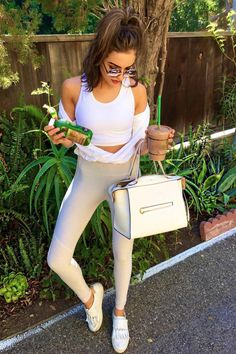Olivia Culpo Instagram Pic in #tod's slip on sneakers! #dailylook #celebstyleguide from @Celeb_StyleGuide's closet