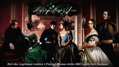 HAPPY NEW YEAR FROM QUEEN VICTORIA AND PRINCE ALBERT #VICTORIA ITV #THE YOUNG VICTORIA