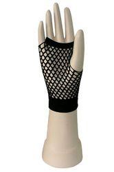 Fashion Neon Short Fishnet Gloves Fish Net Black Fancy Dress Party Dance Club Free Shipping(China (Mainland))