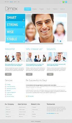 web design inspiration - four categories, main image    #DanCamacho.com #Design