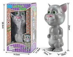 Talking Tom Cat   A Perfect Toy That Can Talk and Repeats What You Say