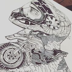 Sketchbook drawings on Behance