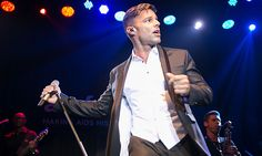 April 15: La Vida Loca! Ricky Martin took the stage during the 2016 amfAR Inspiration gala in Sao Paulo.