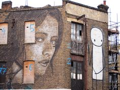 Stik is in good company as seen during one of our street art tours