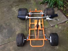 Mini Motorbike, Mini Bike, Karting, Homemade Go Kart, Electric Go Kart, Go Kart Parts, Diy Go Kart, Motorised Bike, Sand Rail
