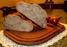 Profumo di Lievito: pane con cipolle al vino rosso