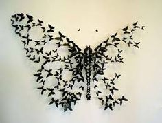 Butterfly dis-integrating and reintegrating