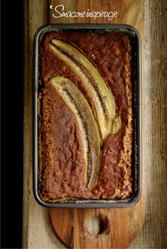 Healthy Cake, Healthy Sweets, Healthy Eating, Gluten Free Recipes, Healthy Recipes, Wonderful Recipe, No Bake Desserts, Banana Bread, Food And Drink