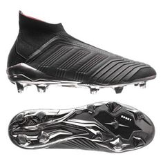 c1c21a0ee785 adidas Predator 18+ FG Soccer Shoes (Core Black/Real Coral): https