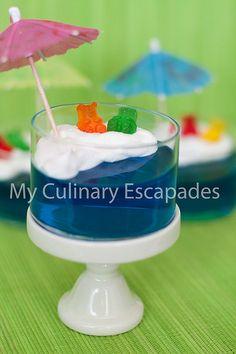 Pool Party Jello - fun little summertime dessert