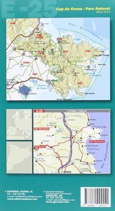 Cap de Creus parc natural. Mapa guía excursionista. Escala 1:25.000. Español, català, Français, English. Editorial Alpina. (Mapa Y Guia Excursionista)  #ParquedeVigeland