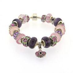 Bracelet style pandora Rose Violet