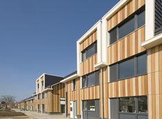 Velve-Lindenhof residential complex in Enschede, Netherlands.