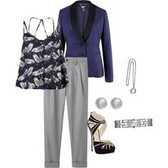 work outfit, created by ldarage on Polyvore