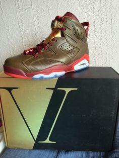 huge discount 1c498 ed8ee Nike air Jordan 6 série spéciale cigare. Taille 9us 42,5 Neuves Boite  spéciale pour cette édition. Bien cotée.  nike  kicks  jordan