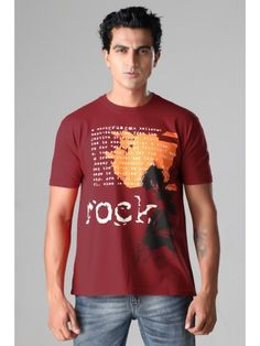 Buy T-Shirts Online | Rock - Pompein Red Men T-Shirt | C9T-005 | cilory.com http://www.cilory.com/graphic-t-shirts/14862-rock-pompein-red-men-t-shirt-.html