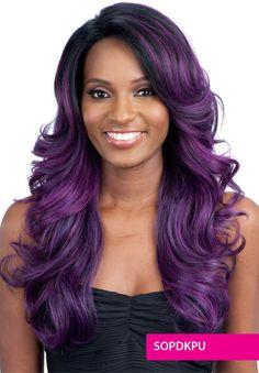 Model Model Premium Seven Star Wig Lace Front VERA. High quality premium wig. Heat safe - up to 400F. ebonyline.com