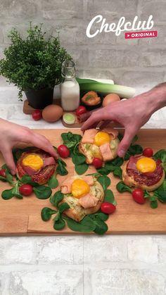 Tapas Recipes, Best Dinner Recipes, Breakfast Recipes, Cooking Recipes, Mozarella, Party Food Buffet, Buzzfeed Tasty, Snacks To Make, Rainbow Food